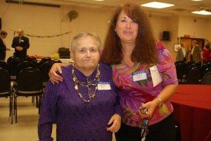 Sheila Riz and Iona Riz