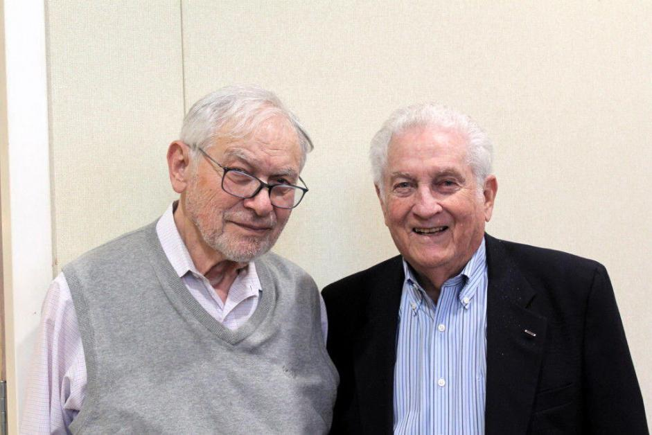 Never forget: Holocaust survivors team up to tell their stories