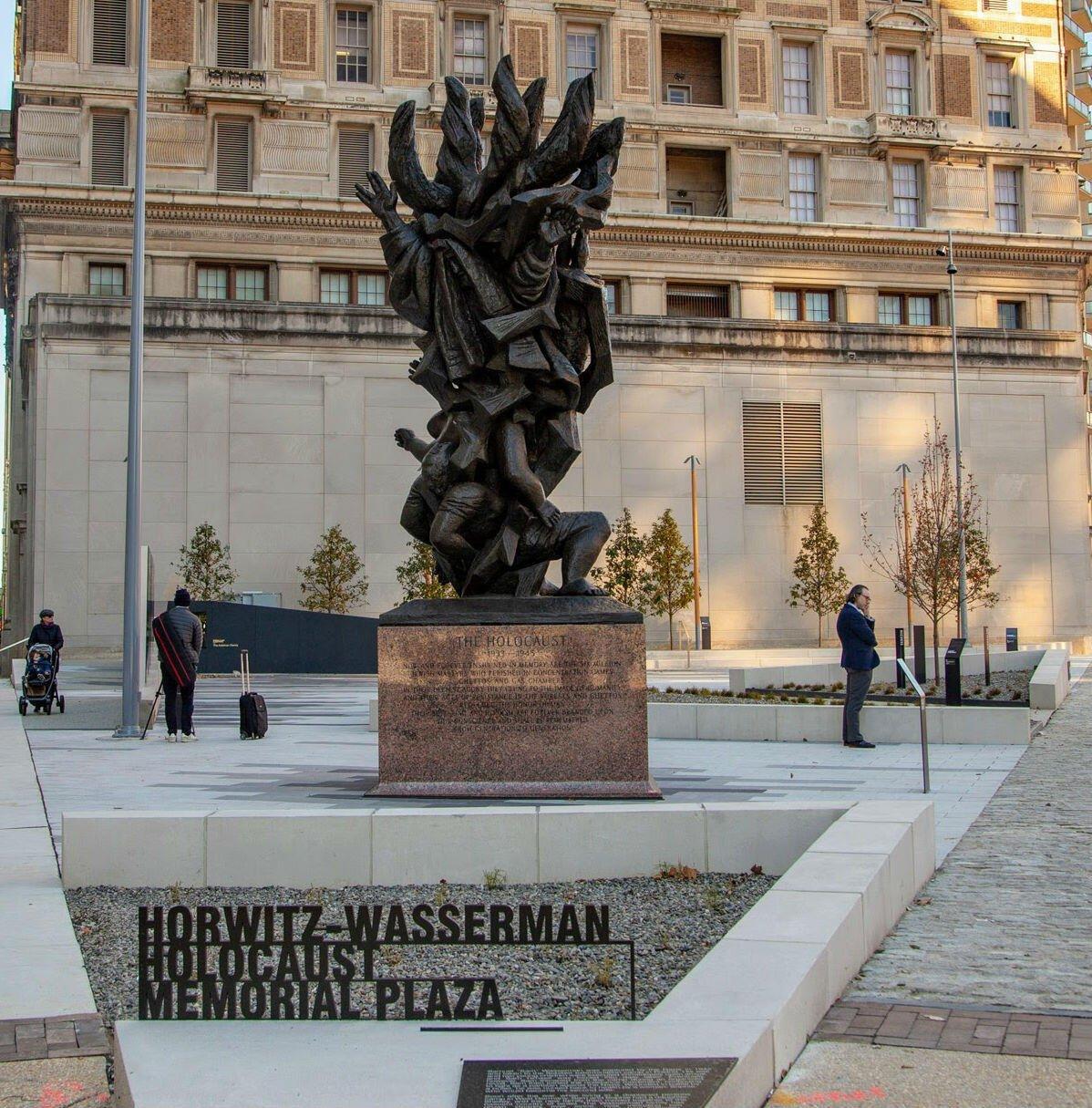 Man Vandalizes Holocaust Memorial In Center City