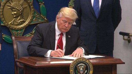 President signs Never Against Act