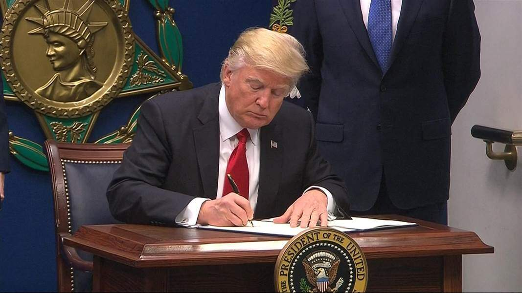 President signs Never Again Education Act into law
