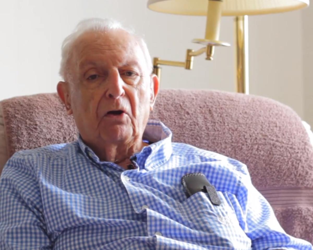Art Stern, U.S. Veteran and Liberator