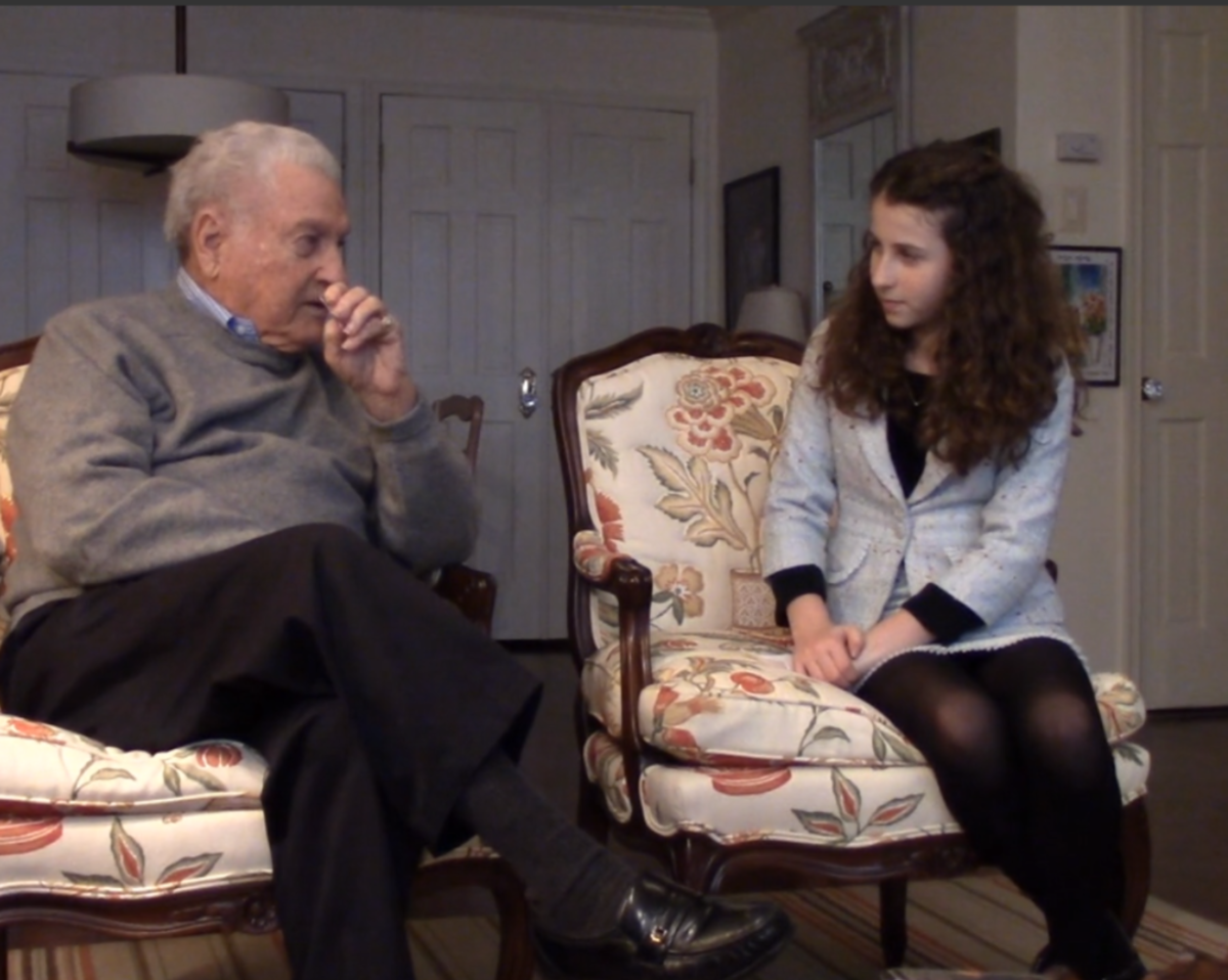 Don Greenbaum, Liberator, Interview by Natalie Lieberman